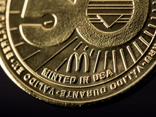 McDonald's prepares to release the MacCoin to celebrate 50 years of the Big Mac.