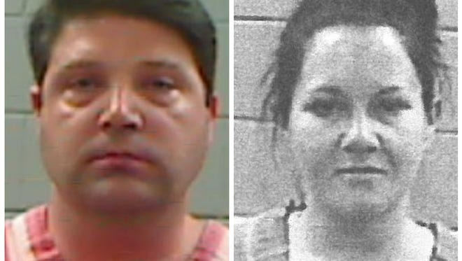 Dr. Steven Tincher and his girlfriend Lindsay Peacock were both arrested in Brandon on drug trafficking charges.