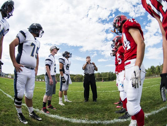 Essex vs. CVU football 09/19/15