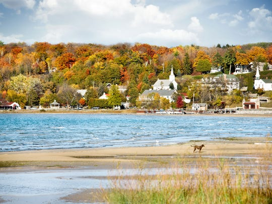 Door County named a top spot for seeing fall colors by boat