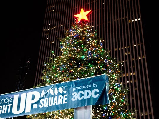Macy's Light Up the Square annually brings 25,000 people Downtown.