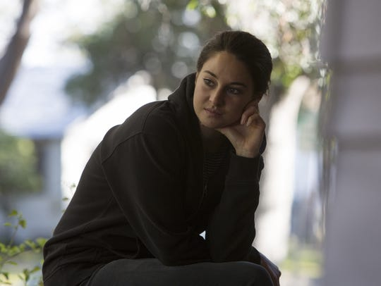 Shailene Woodley plays Jane, a single mother and newcomer