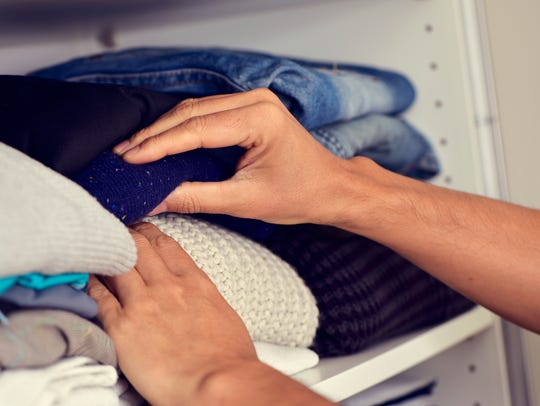 July is a good time for organizing closets, before