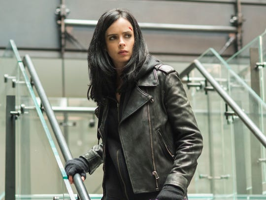 Krysten Ritter stars in the Netflix series 'Marvel's Jessica Jones.'