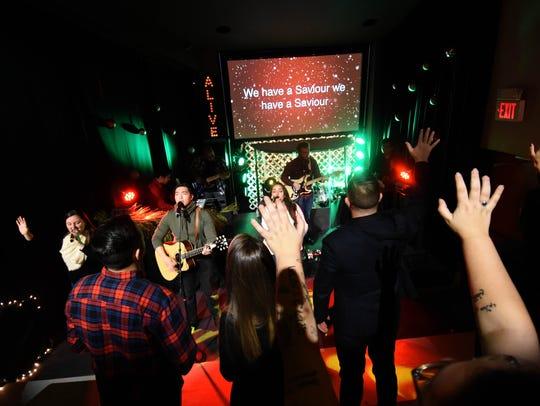 Giving Christmas Away, Church Alive's Christmas service.