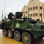 Stryker at JRTC in Fort Polk