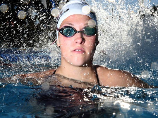 Chiles senior Morgan Ayers is the 2016 All-Big Bend Co-Swimmer of the Year for girls swimming after winning a second consecutive state title in the 100 breaststroke.