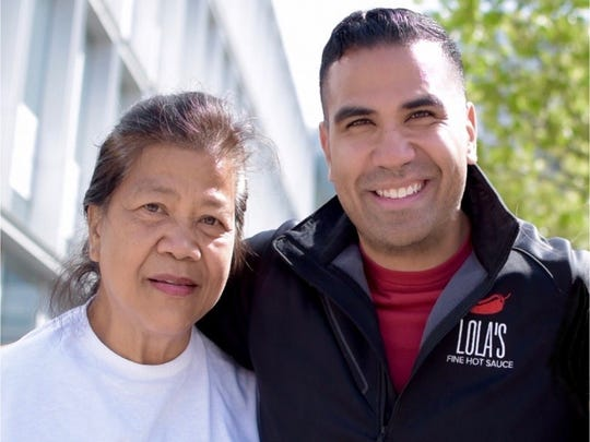 Carmelita and Taufeek Shah, owners of Lola's Fine Hot