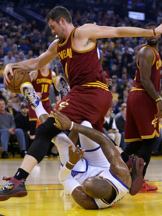 Marreese Speights, Kevin Love