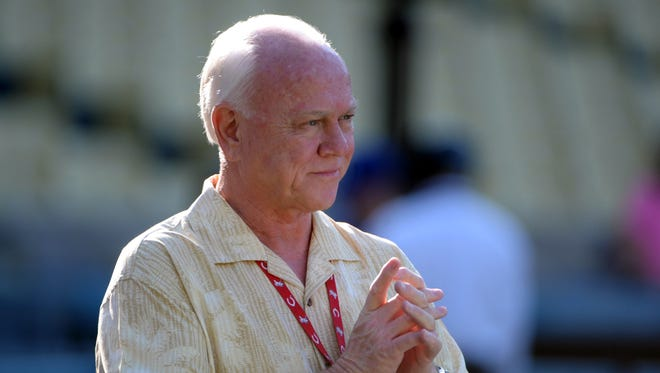 Reds general manager Walt Jocketty