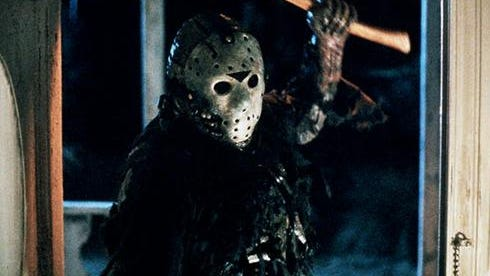 Jason Vorhees (pictured) is the arch-villain in all but two of the long-running 'Friday the 13th' series.