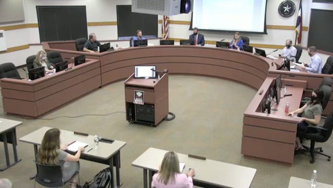 The Lake Travis school board received a series of updates at its meeting Wednesday, including on the district's health advisory committee, corporate partnerships and several large purchases