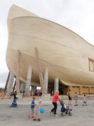 The Ark Encounter opened in 2016 in Williamstown, Kentucky.&nbsp;&nbsp;The ark is almost two football fields long and has three decks of exploration.<br /> July 5, 2016