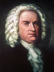 An oil painting of German composer Johann Sebastian Bach by painter Elias Gottfried Haussmann.