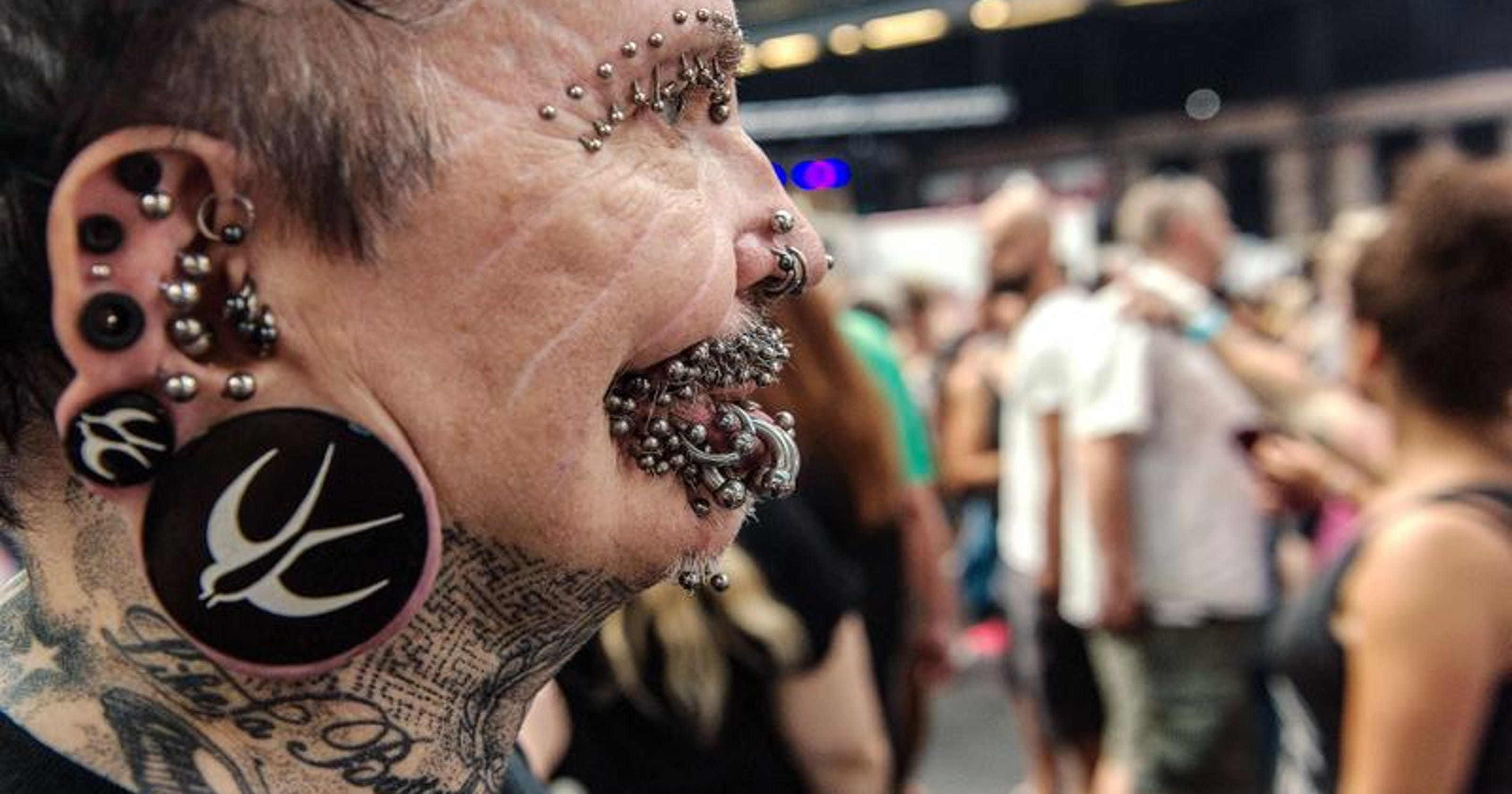 4e7b0973b German man with more than 100 face piercings denied entry to Dubai