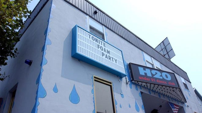 H2O Nite Club is located on Worcester Street in downtown Ocean City.