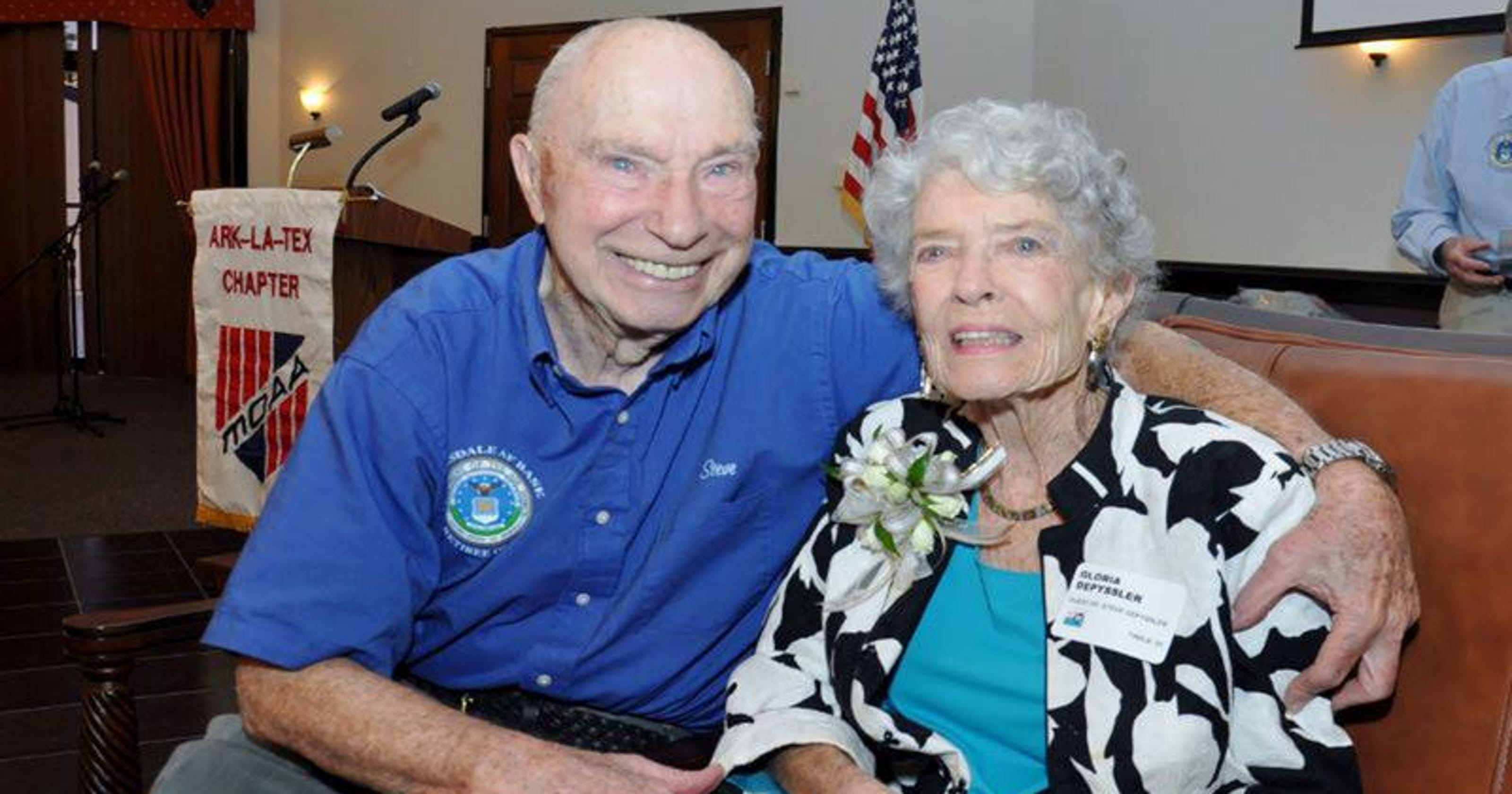 Retired colonel celebrates 95th birthday