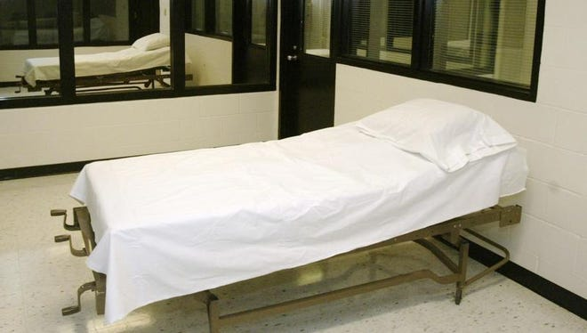 A chamber at the Missouri Corrections Center in Bonne Terre, Mo. — near St. Louis — is where the state executes the death penalty.