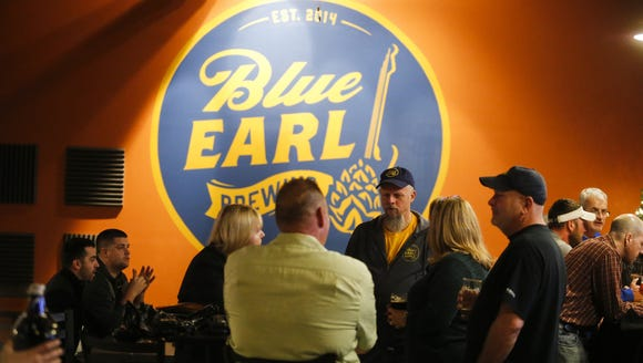 Kent County's Blue Earl Brewing Company pours beer