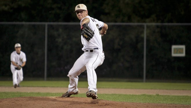 Justin Alleman was drafted by the San Francisco Giants in the 20th round of the MLB draft on Saturday. The former Holt High and MSU pitcher, who is at Lee University in Tennessee, also was drafted by Kansas City in the 16th round of the 2012 draft.