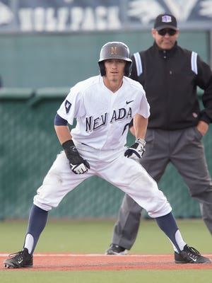 TJ Friedl leads Nevada in most offensive statistical categories and has played exceptional defense in center field during a breakout sophomore season.