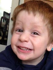 Mason DeCosmo, 2, was killed in August. Police say