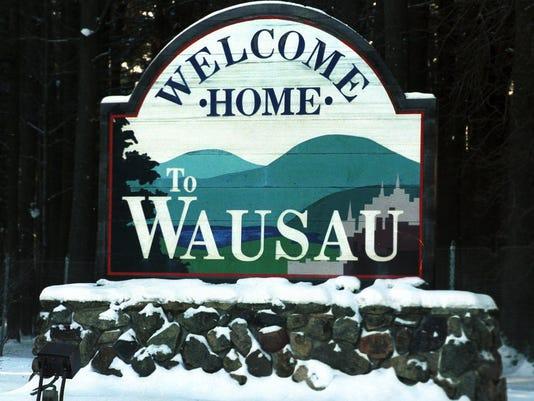 Wausau Sign (didn't run)