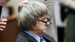 David Turpin appears in court  in Riverside, Calif.,