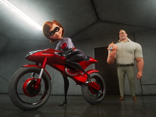 "In ""Incredibles 2,"" Helen (aka Elastigirl) is called"