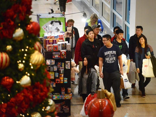 Black Friday scene at Willowbrook Mall