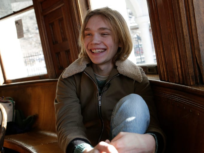 "Actor Charlie Plummer, 18, is in Ridley Scott's ""All"
