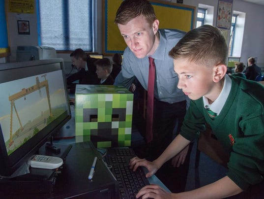 Microsoft buys Minecraft mod for schools