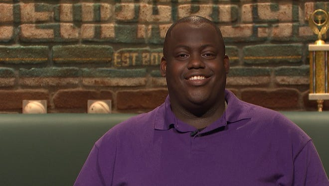 Earl Holland, a former Daily Times journalist who now works at The News Journal near Wilmington, is a contestant on Sports Jeopardy! on Wednesday, Oct. 5, 2016.