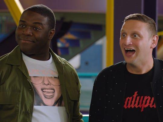 Detroit ad men Sam Duvet (Sam Richardson), left, and Tim Cramblin (Tim Robinson) are back at work in the Motor City for Season 2 of Comedy Central's 'Detroiters.'