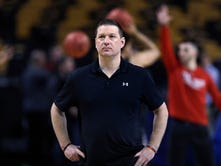 Purdue basketball's Steve Lutz and Texas Tech's Chris Beard started careers together