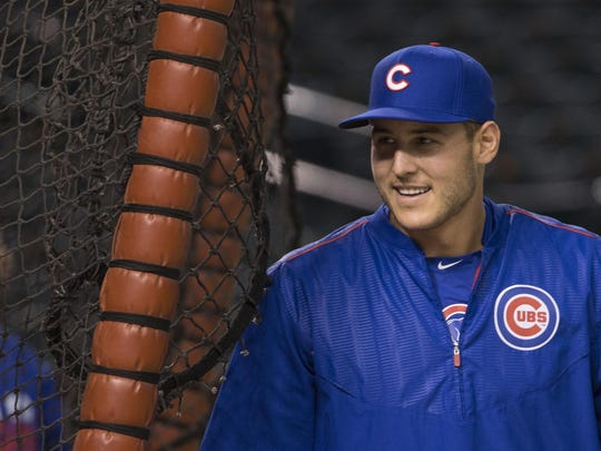 Anthony Rizzo of the Chicago Cubs helped make a Glasgow boy's Make-A-Wish dream come true.