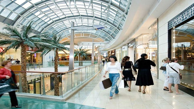 Taubman Centers owns or co-owns many premier malls like The Mall at Millenia.