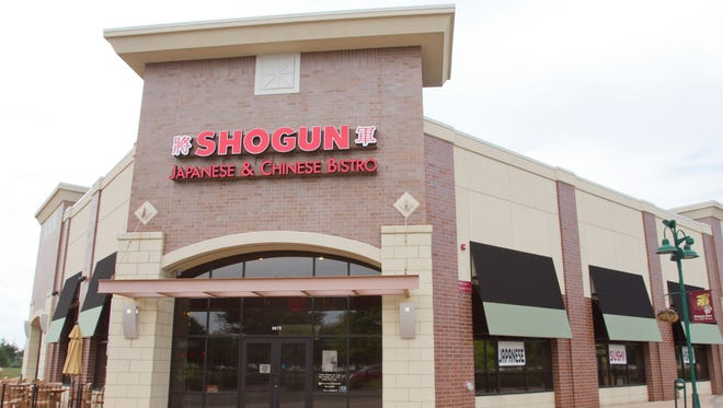 The Shogun Japanese & Chinese Bistro in the Green Oak Village Place mall has been cited for four priority violations.