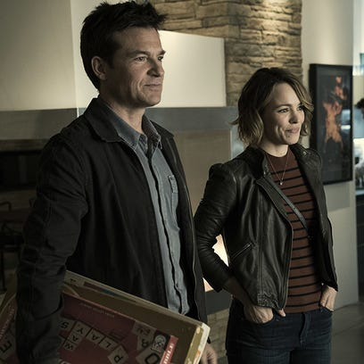 "Jason Bateman and Rachel McAdams in ""Game Night."""