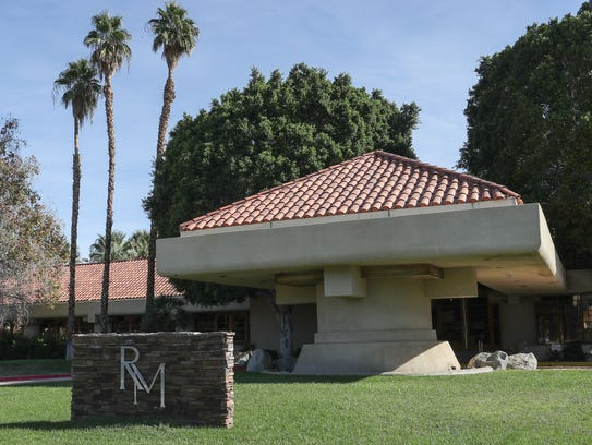 The golf shop building at Rancho Mirage Country Club