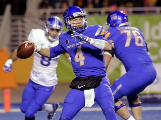 Boise State quarterback Brett Rypien is one of the top returning players in the MW.