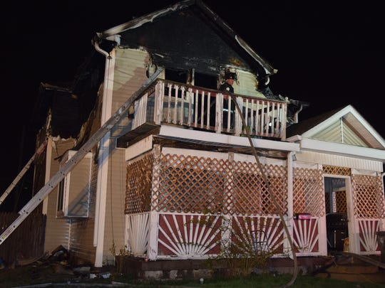 The two people killed in this south-side house fire on March 3, 2017, were the first fatalities of the year in the Indianapolis fire district.