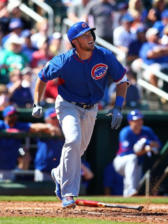 USP MLB: CHICAGO CUBS AT CLEVELAND INDIANS S BBA USA AZ