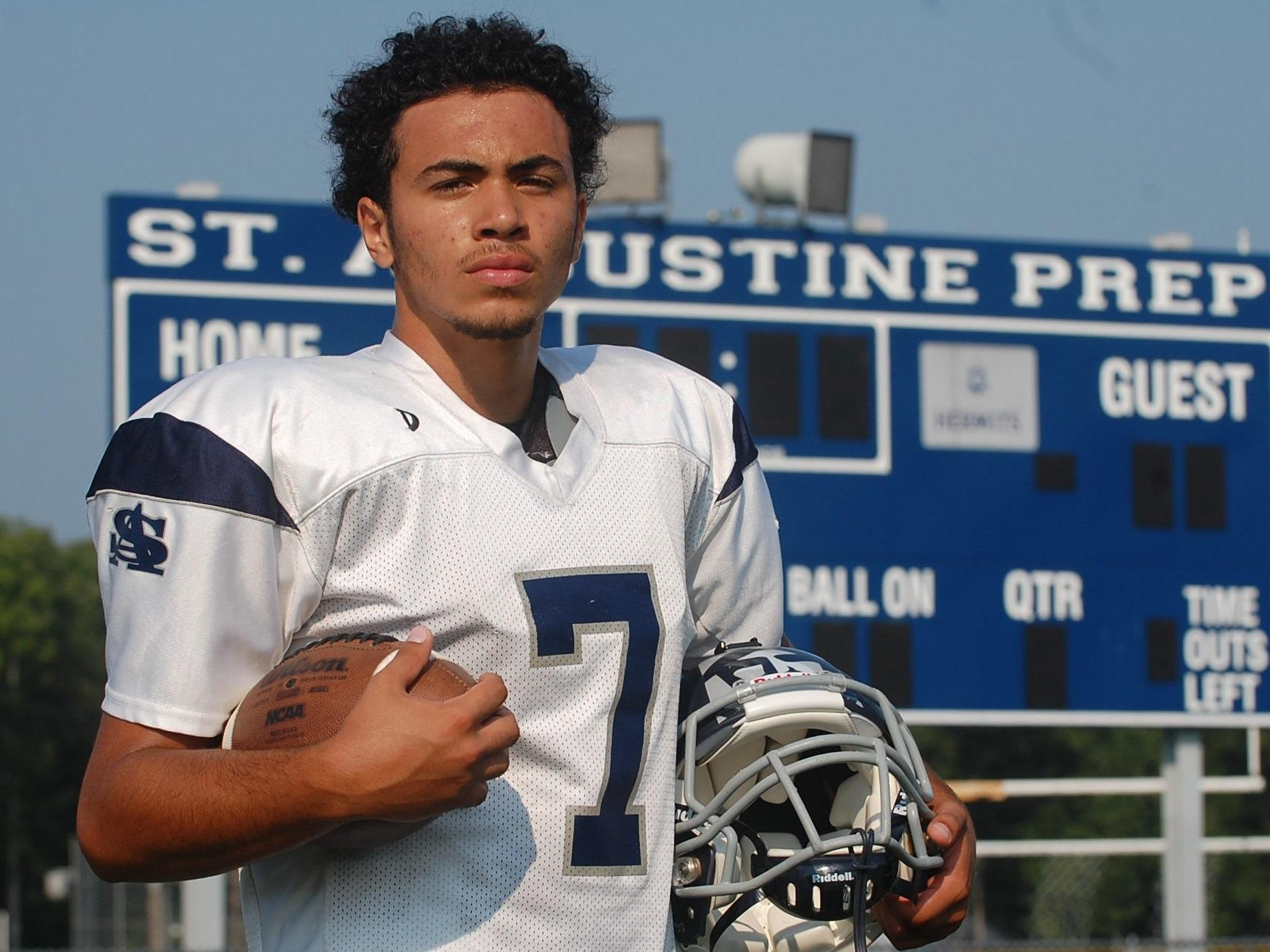 In his third year as the starting quarterback, expectations are high for St. Augustine senior Jose Tabora.