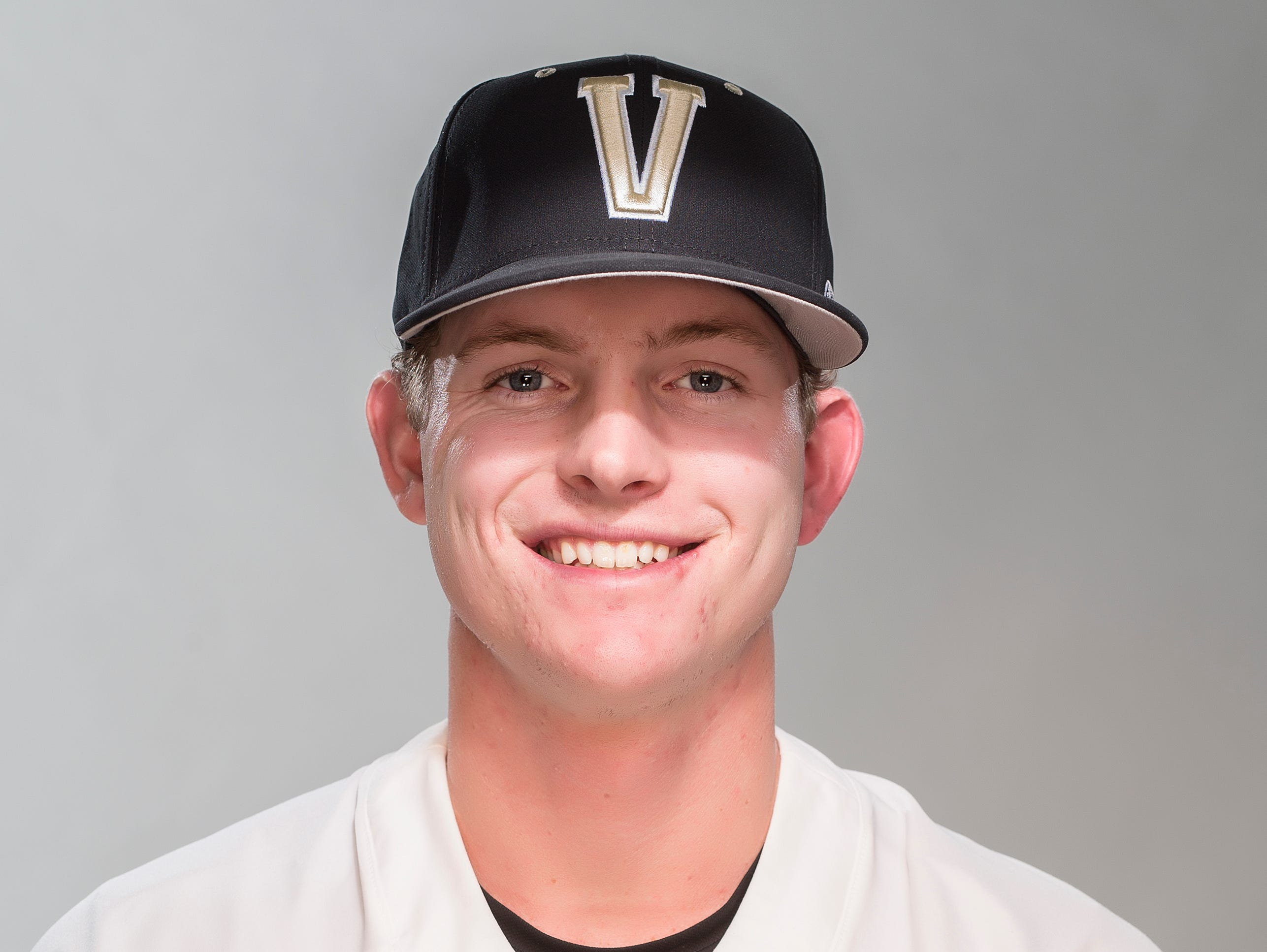 Will Toffey of Vanderbilt baseball in 2017.