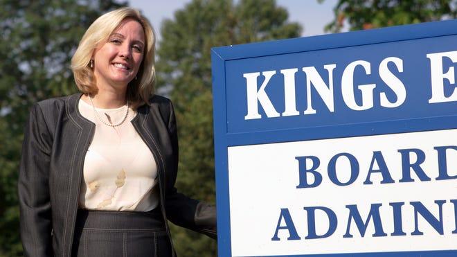 Valerie Browning, superintendent of  Kings Schools, is leaving.