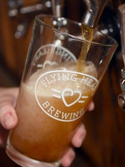 Flying Heart Brewing is located in downtown Bossier City.
