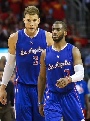 Chris Paul and Blake Griffin are one of the NBA's top duos.