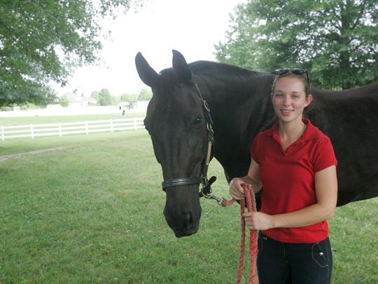 Meghan Miller and Remington have spent the past year forging a bond of communication and trust with the help of trainer Jessica Roberson Wright.