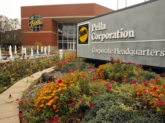 Pella Corporation in Pella.